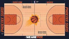 Phoenix Suns home court design 2015-16