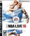 NBA Live 10 PS3 cover