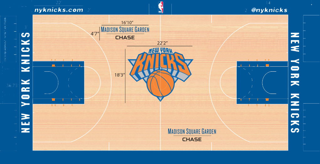 7085dcee6 Home court. Knicks 15H