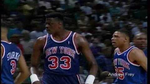 Patrick Ewing Knicks Tribute