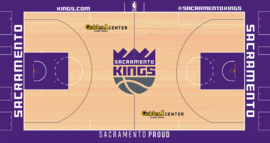 Sacramento Kings Home court design