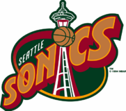Seattle SuperSonics logo 1995–2001