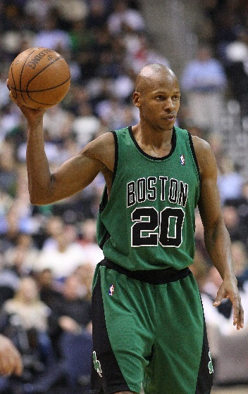 Ray Allen, a day before his induction into the Hall of Fame, said his time in Boston was the
