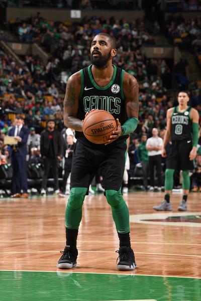 951384386d8 Irving during a Celtics game in December 2017