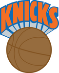 New York Knicks logo 1983–89
