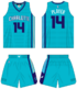 Charlotte Hornets alternate uniform 2014-15