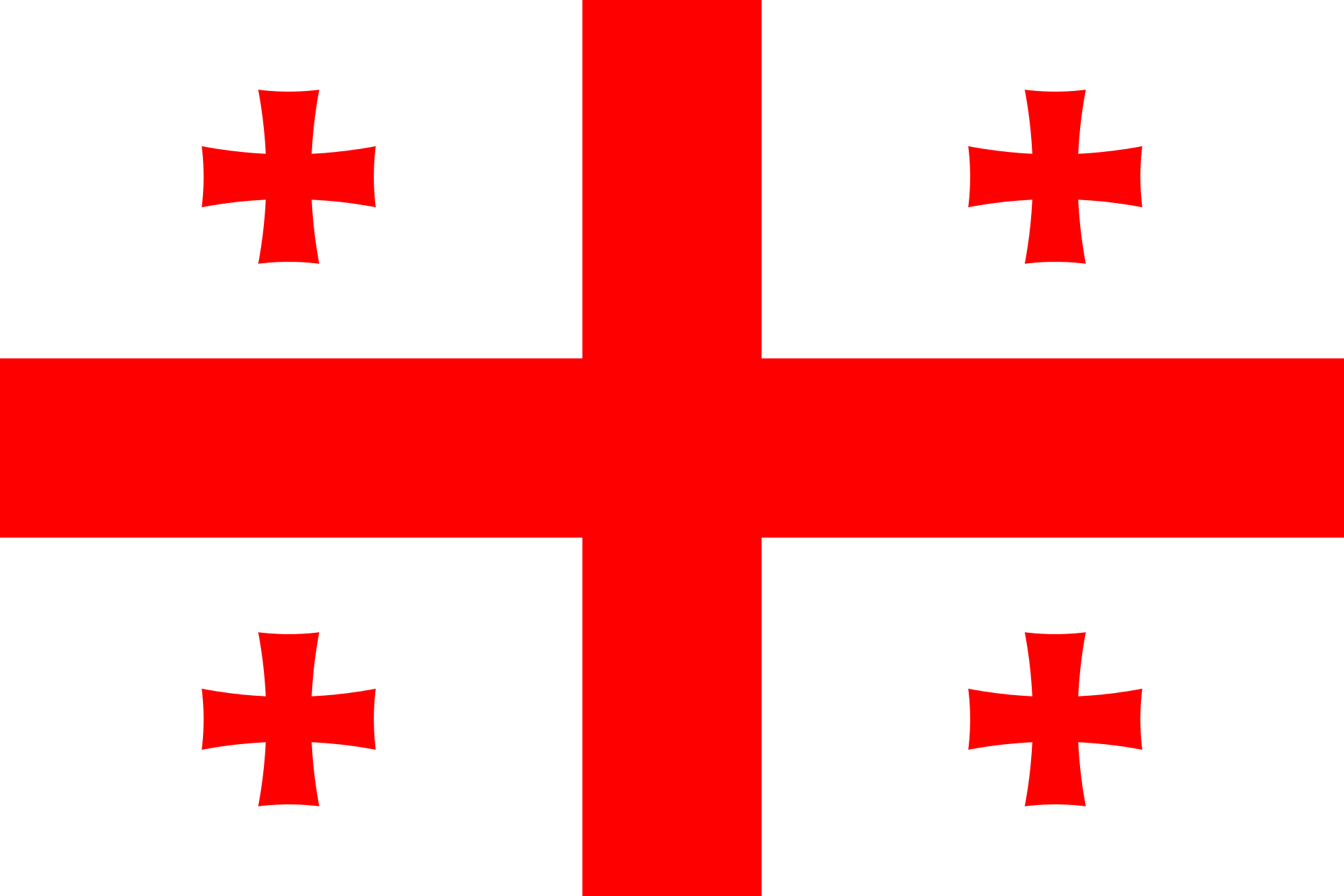 Georgia (country) Flag