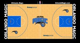 Orlando Magic court logo