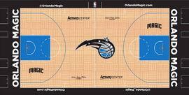 Orlando Magic court design