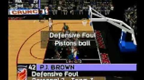 NBA Live 98 - Gameplay (Sega Saturn)