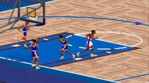 Super Nintendo - NBA Live 95 (1994)