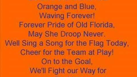 University of Florida Gators Fight Song