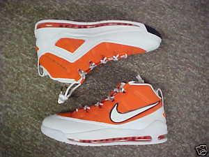 Emeka Okafor Nike Air Max Customized Basketball Shoes 1.JPG