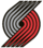 Portland Trail Blazers alternate logo