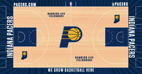 Indiana Pacers court design
