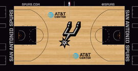 San Antonio Spurs court design