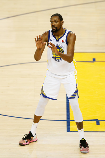 635ada9e75e6 Durant during Game one of the 2018 NBA Finals
