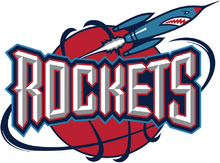 Houston Rockets logo 1995–03