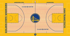 Golden State Warriors court design