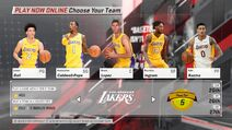 Los Angeles Lakers NBA 2K18