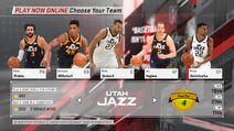 Utah Jazz NBA 2K18