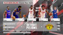 Detroit Pistons NBA 2K18