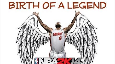 NBA 2K14 The Birth Of A Legend