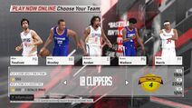 Los Angeles Clippers NBA 2K18