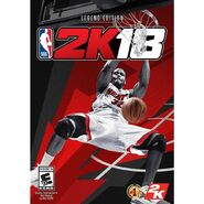 NBA 2K18 Legend Editon