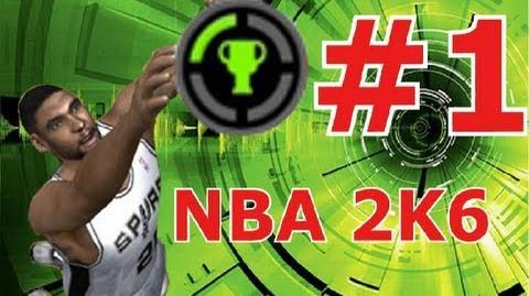 NBA 2K6 The Easiest 1,000 GamerScore Guide ! HD