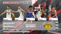 Philadelphia 76ers NBA 2K18