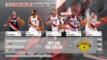Portland Trailblazers NBA 2K18