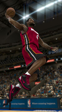 LeBron James NBA 2K12