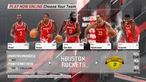 Houston Rockets NBA 2K18