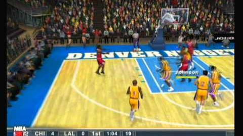 NBA 2k12 Ps2 Gameplay