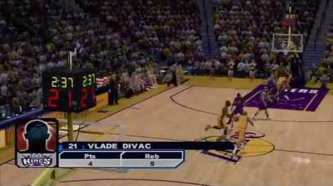 NBA 2K6 - 2001-02 Kings vs 2001-02 Lakers
