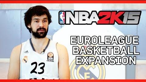 NBA 2K15 - Euroleague Basketball Expansion Trailer