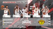 Cleveland Cavaliers NBA 2K18
