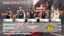 San Antonio Spurs NBA 2K18