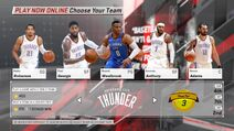 Oklahoma City Thunder NBA 2K18
