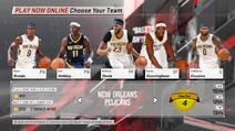 New Orleans Pelicans NBA 2K18