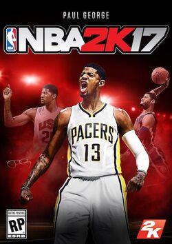 NBA 2K17 cover art