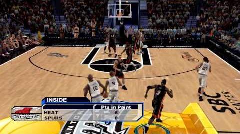 NBA 2K6 - NBA Finals - Heat vs Spurs
