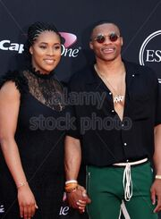 The-2017-espy-awards-arrivals-featuring-russell-westbrook-nina-earl-jwppw2