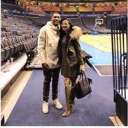 Bradley Beal girlfriend Kamiah Adams-picture