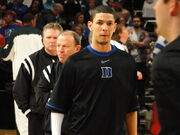Austin Rivers warmup