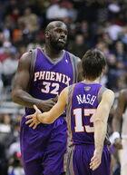Shaq and Nash