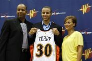 Dell Stephen and Sonya Curry