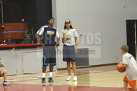 Paul-George-and-Teiosha-George-2011-NBA---Paul-George-and-Danny-Granger-Coach-at-Paul-Skills-Camp-in-Los-Angeles---August-20,-2011