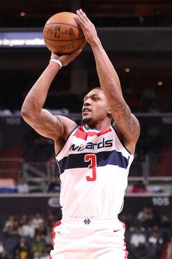 Bradley Beal New York Knicks v Washington 2ekT7leULy6l